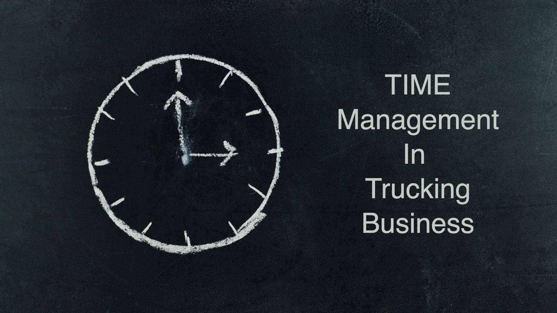 7 Ways To Manage Schedule Better In Trucking Business